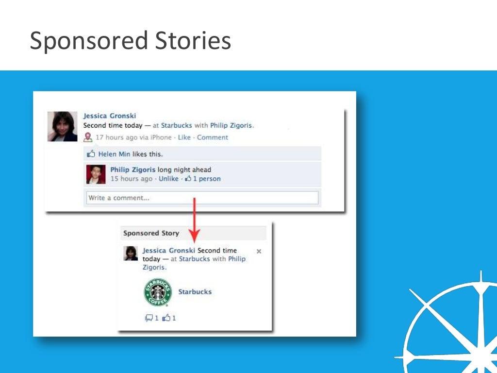 Định nghĩa sponsored Stories ngày nay