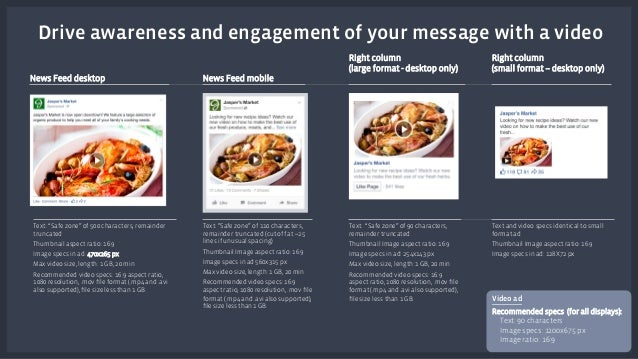 """Drive awareness and engagement of your message with a video  Text: """"Safe zone"""" of 500 characters, remainder  truncated  Th..."""