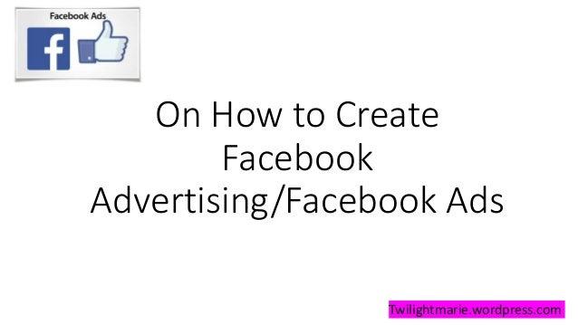 Facebook ads tutorial Slide 3