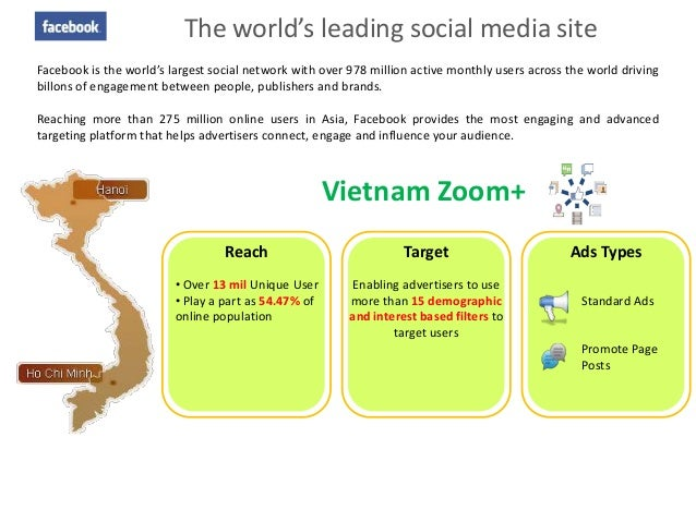 The world's leading social media siteFacebook is the world's largest social network with over 978 million active monthly u...