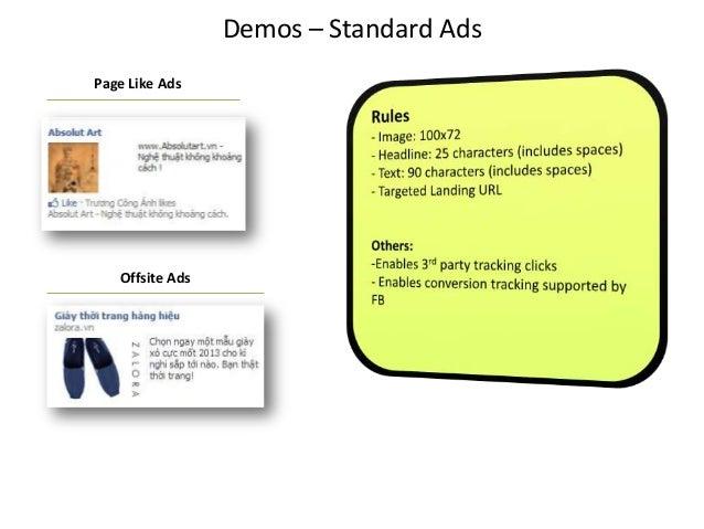 Demos – Standard AdsPage Like AdsOffsite Ads