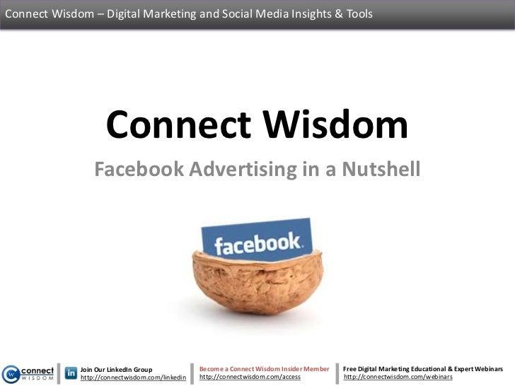 Connect Wisdom – Digital Marketing and Social Media Insights & Tools                    Connect Wisdom                 Fac...