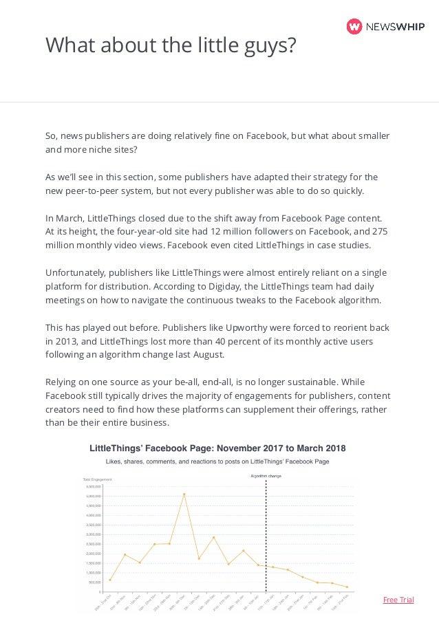 Navigating the Facebook Algorithm Change: 2018 Report