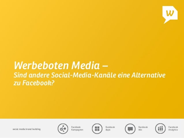 social media brand building  Facebook Kampagnen Facebook Apps Facebook Ads Facebook Analytics Werbeboten Media – Sind ande...