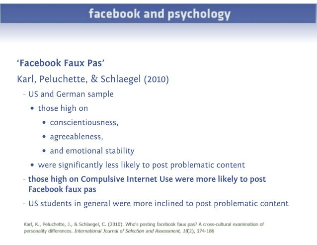 facebook psychology A widely publicised facebook image of david and louise turpin with their 13  children is notable for the standard, red t-shirts and blue jeans.