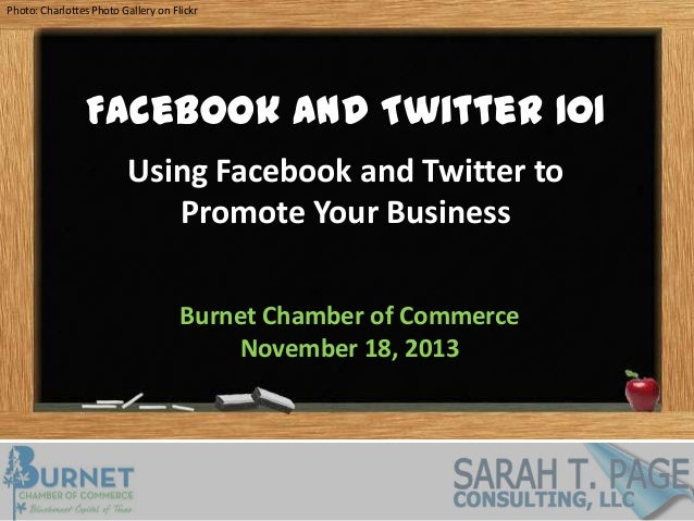 Photo: Charlottes Photo Gallery on Flickr  Facebook and Twitter 101 Using Facebook and Twitter to Promote Your Business Bu...