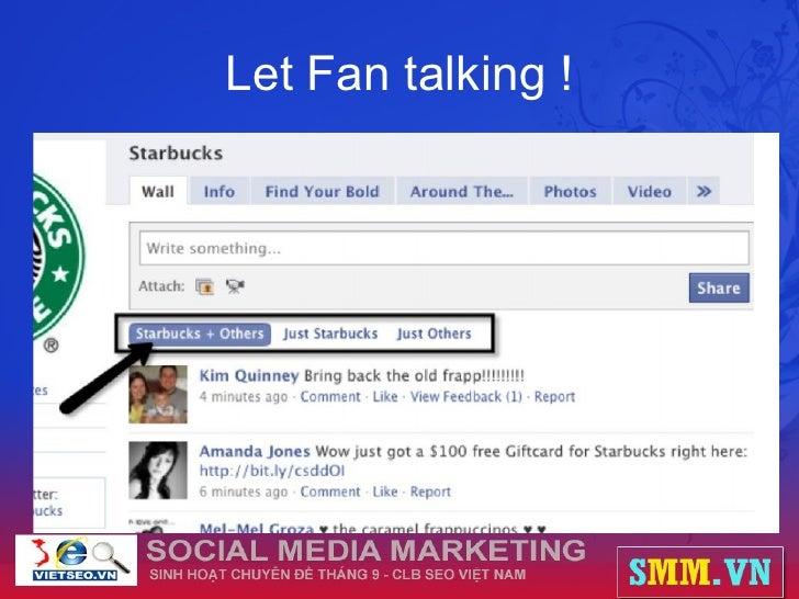 Let Fan talking !