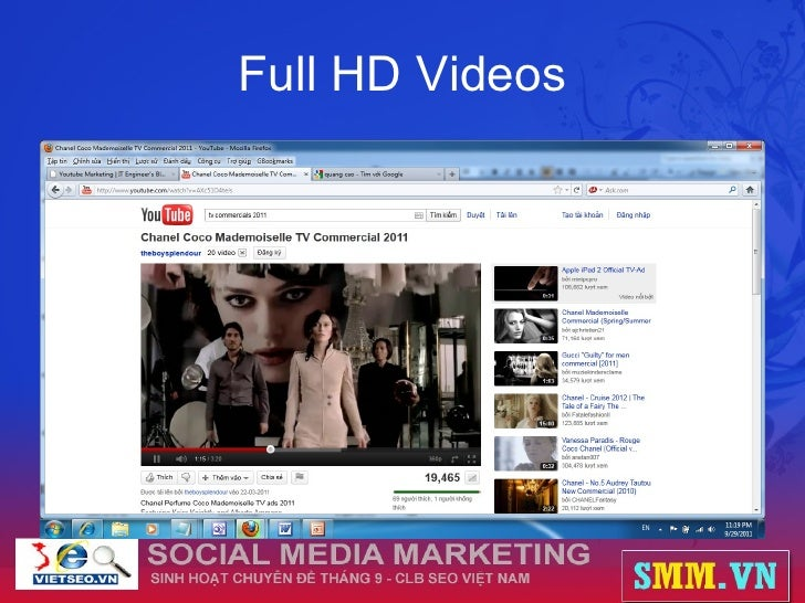 Full HD Videos
