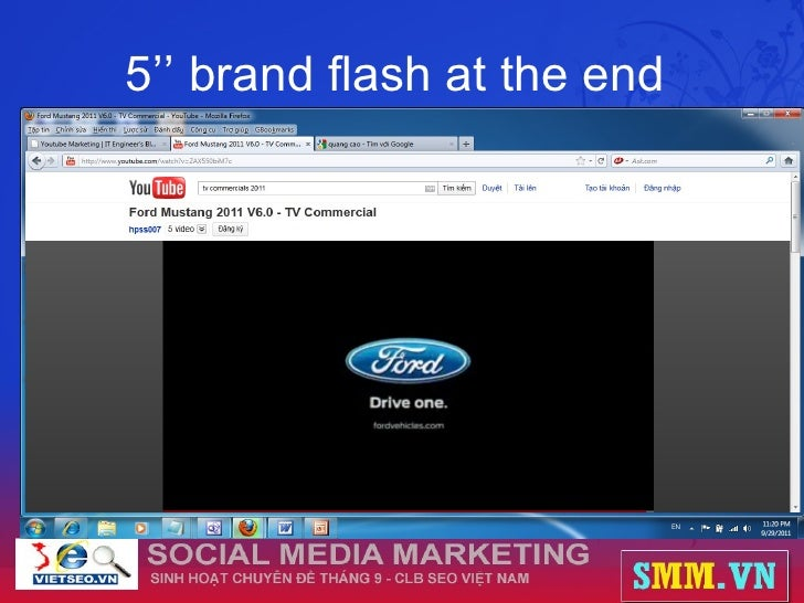 5'' brand flash at the end