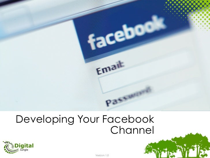 Developing Your Facebook                 Channel             Version 1.0