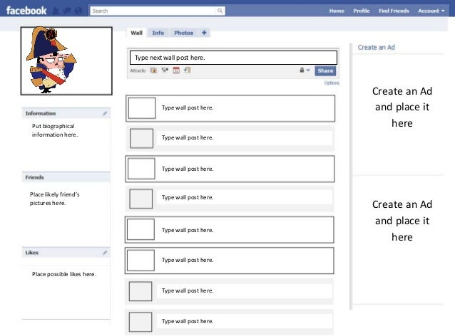 Facebook Assignment Template