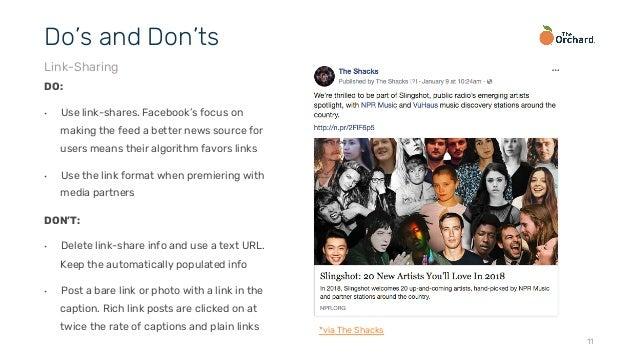 Facebook Best Practices 2018