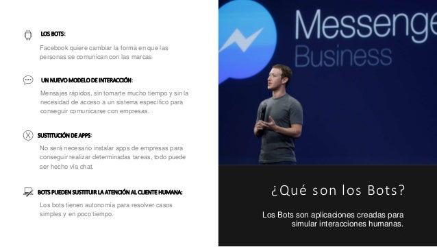 Facebook bots: La nueva arma para la atención al cliente en redes sociales Slide 2