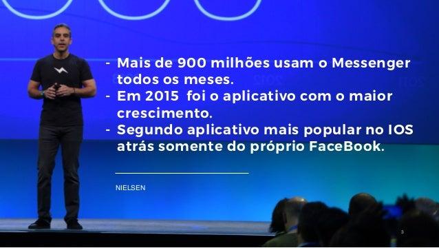 Facebook bots uma nova arma no relacionamento e atendimento ao consumidor Slide 3