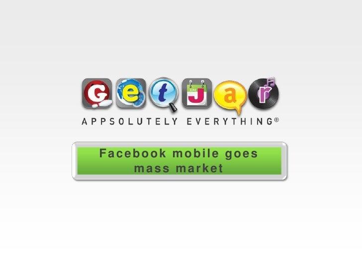 Facebook Apps it! On GetJar<br />