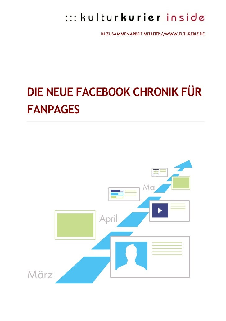 IN ZUSAMMENARBEIT MIT HTTP://WWW.FUTUREBIZ.DEDIE NEUE FACEBOOK CHRONIK FÜRFANPAGES                              Mai       ...