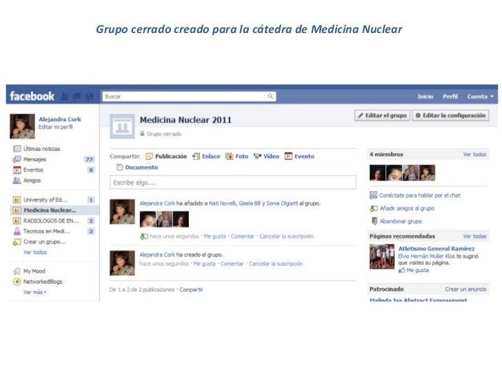 Grupo cerrado creado para la cátedra de Medicina Nuclear