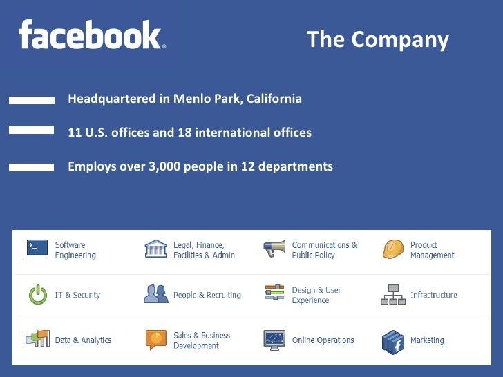 Facebook Company Profile (2012)