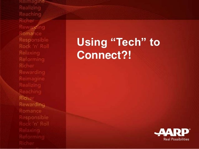 """Using """"Tech"""" toConnect?!"""
