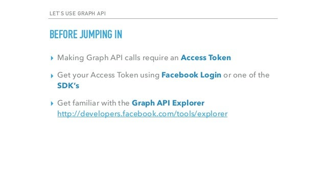 Open Graph API And How To Use It : Facebook Developers Circle Meetup …