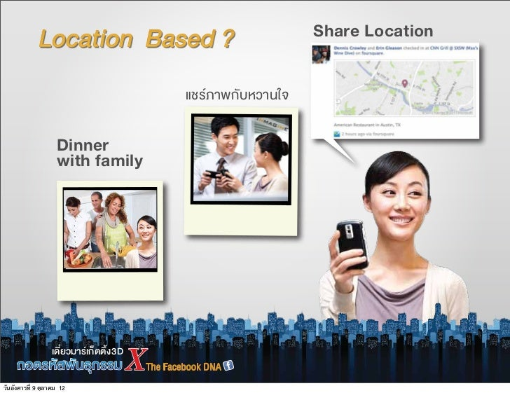 Share Location                    Dinner                    with family                           3Dวันอังคารที่ 9 ตุลาคม 12