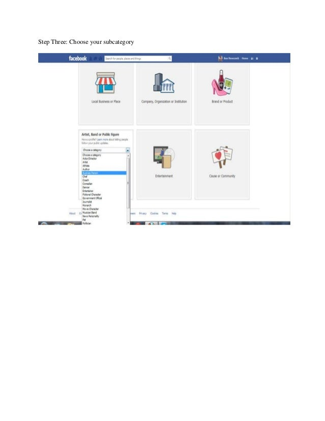 how to set up a selling page on facebook