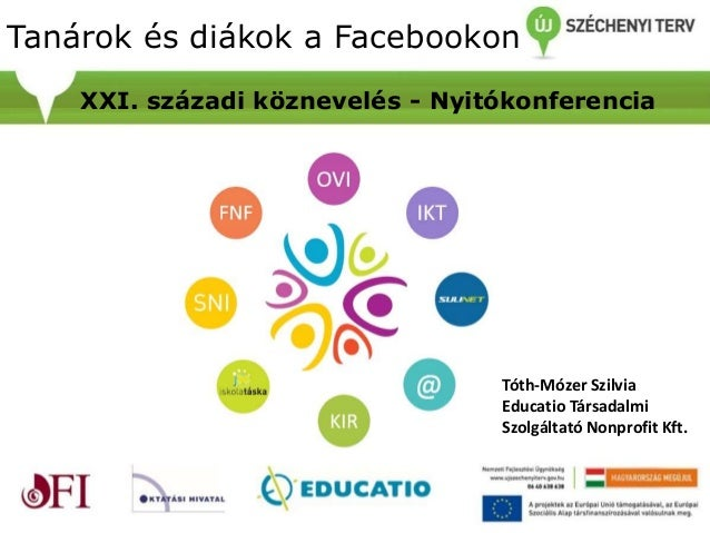 Mintacím szerkesztéseTanárok és diákok a Facebookon XXI. századi köznevelés - Nyitókonferencia Tóth-Mózer Szilvia Educatio...
