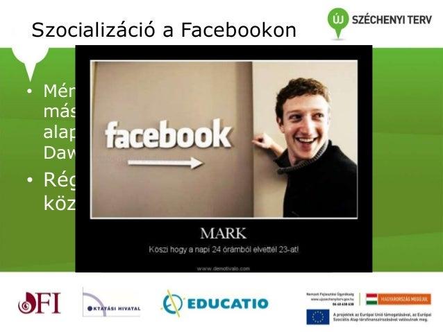Tanárok és diákok a Facebookon Slide 3