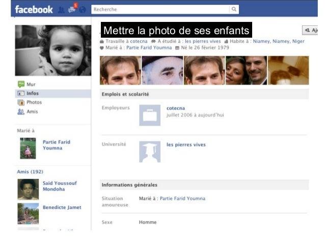 Mettre la photo de ses enfants  La photo de profil « en couple »  Morgane Gcd  avec André  Foucteau, à : Paris,  France.