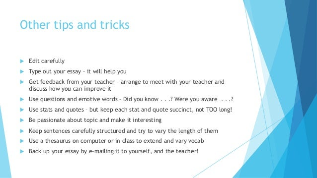 facebook essay ideas 6