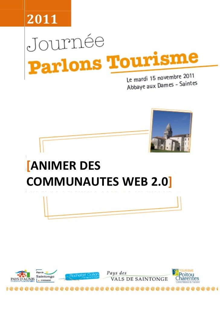 2011[ANIMER DESCOMMUNAUTES WEB 2.0]