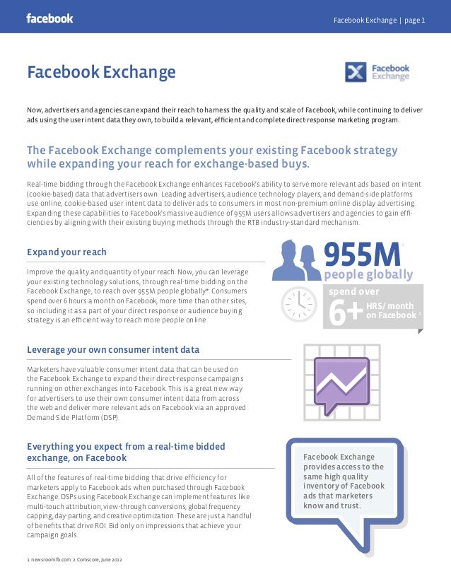 Now, advertisers and agencies can expand their reach to harness the quality and scale of Facebook, while continuing to del...
