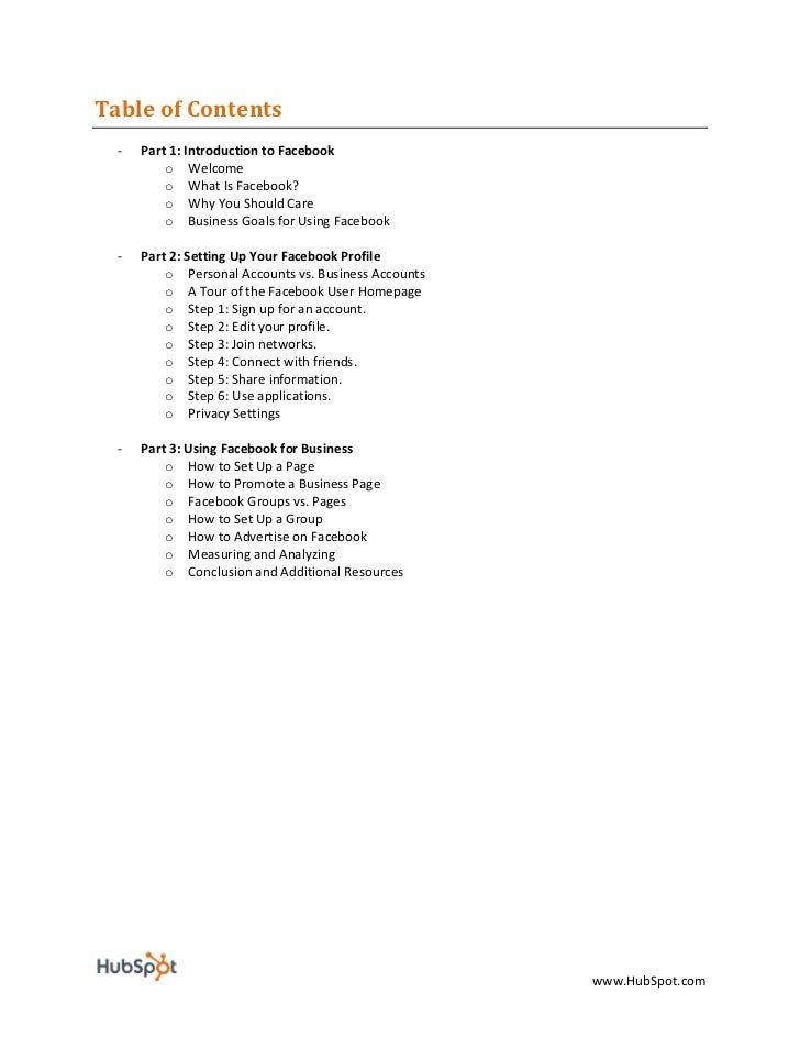 Facebook For Business Marketing eBook - HubSpot Slide 2