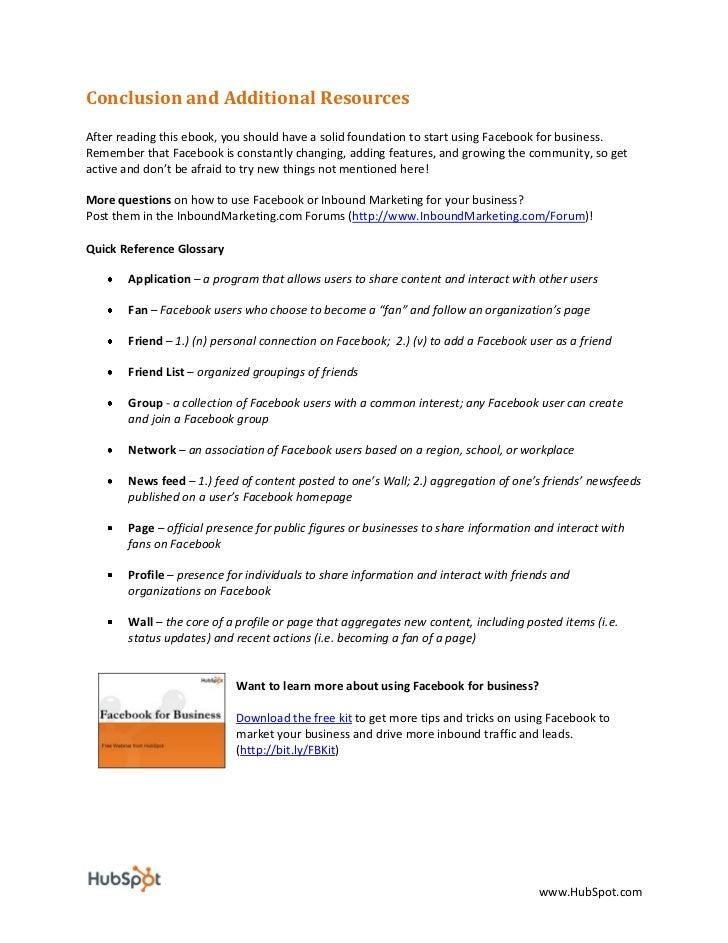 Facebook For Business Marketing eBook - HubSpot