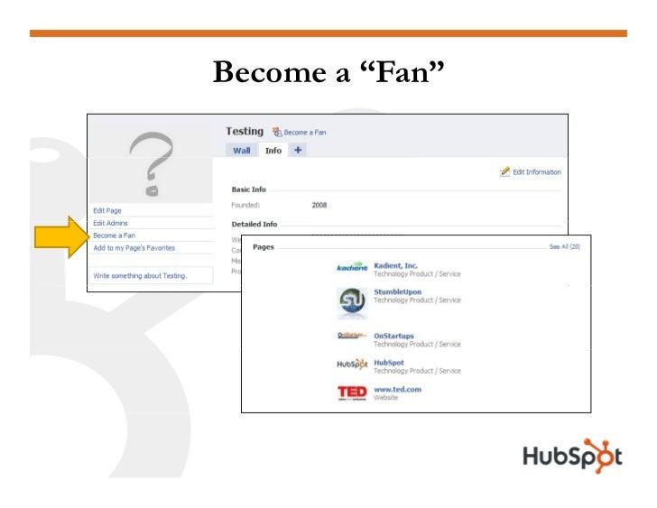 """Become a """"Fan"""""""
