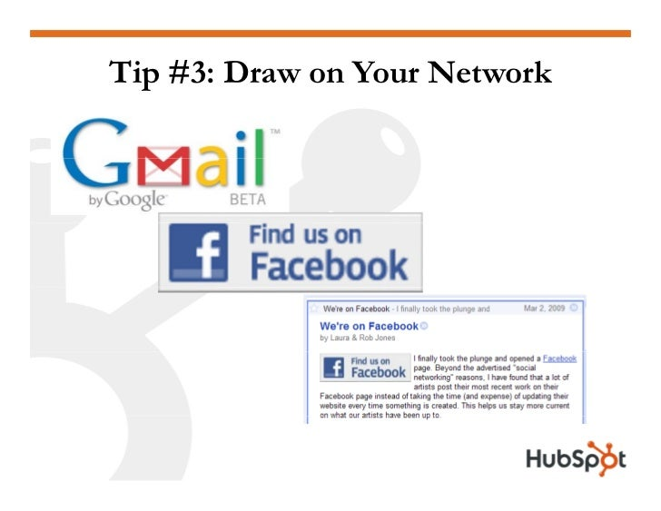Tip #3: Draw on Your Network