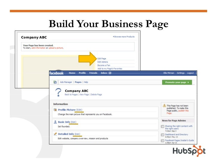 Build Your Business Page Company ABC                      Company ABC