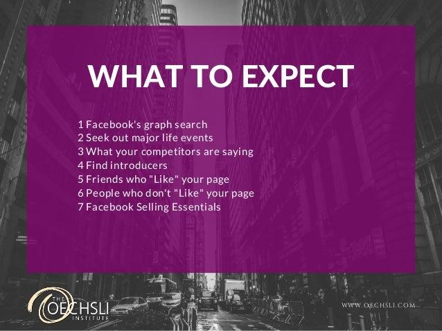 Next-Level Facebook Stalking for Business Slide 2