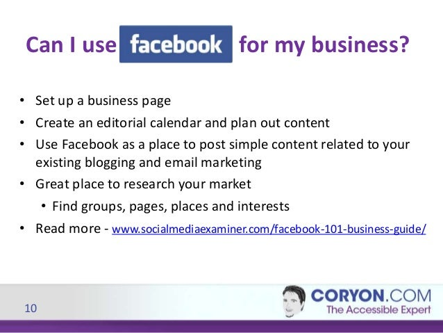using facebook effectively in small business Here's my 2017 new year's resolution to you: i want you to focus on your organic social media reach for the next year as we wrap up 2016, i've been reviewing my core strategy for my personal brand and why it matters for all of my clients, small business friends, contemporaries, and others putting out branded content.