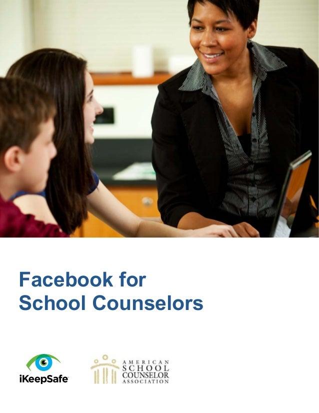 Facebook forSchool Counselors