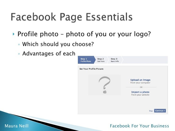 facebook instructions for business