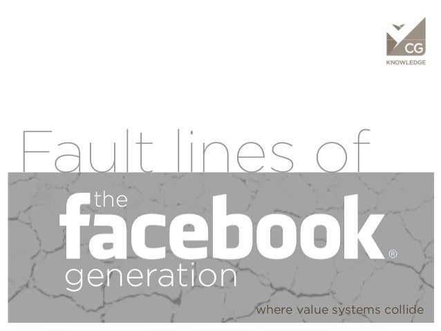 KNOWLEDGEFault lines of            the       generation                    where value systems collide