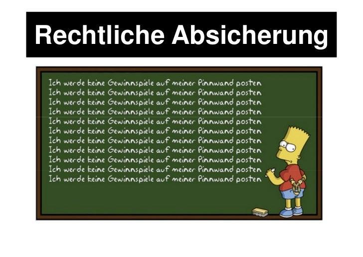 Schutz der Nutzer                 (& der Plattform)  You must not incentivize    users to use (or gate content behind the ...