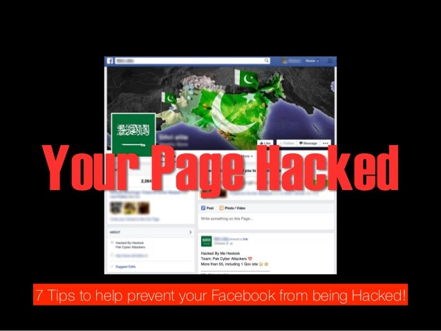 how to stop being hacked on facebook