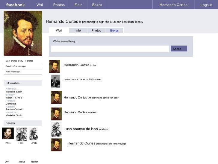Facebook hernando cortes