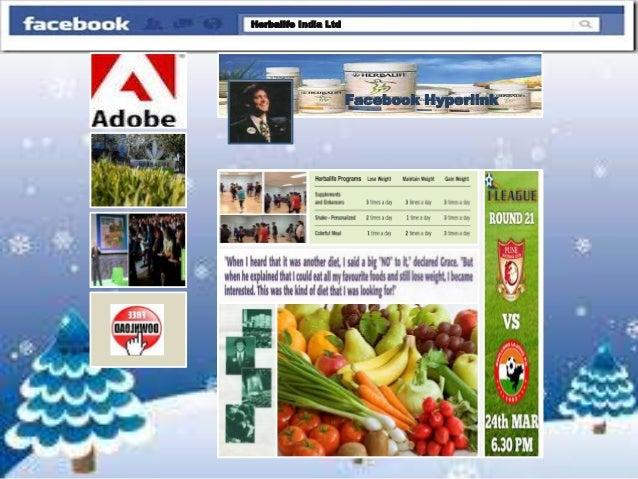 Facebook hyperlink app