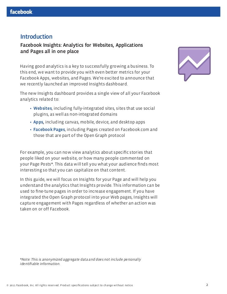 facebook insights guide for page owners rh slideshare net Facebook Insights Tutorial Facebook Insights Explained