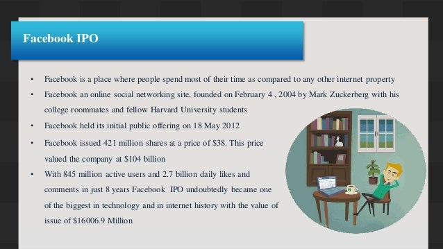 What was the total value of facebook ipo