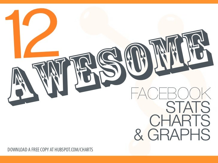 12 Awesome Facebook Stats, Charts & Graphs Slide 1