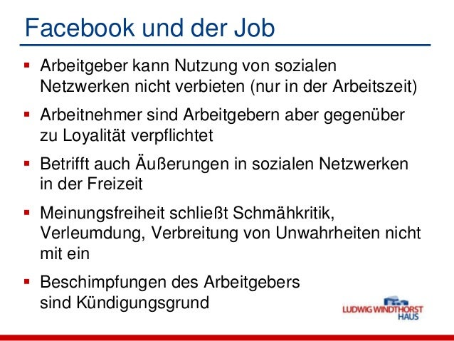 Facebook und der Job